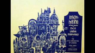 "Haydn: ""London"" Symphony No. 104 in D major - Movement 1 || Leslie Jones, Nonesuch, 1968"