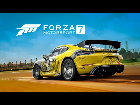 The Porsche 718 Cayman GT4 Clubsport on Forza Motorsport 7 - available now