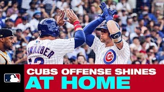 Chicago Cubs put up 17 runs against Pirates!!