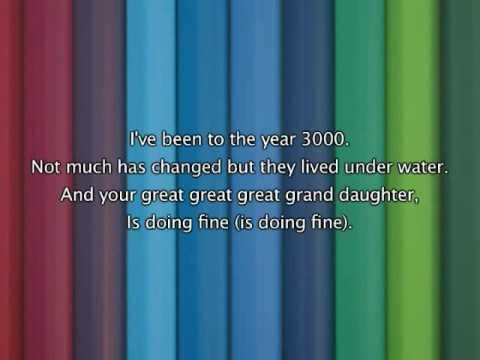 Jonas Brothers - Year 3000, Lyrics In Video
