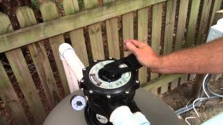 How to Service your Pool Pump and backwash your filter - Virginia Pools, Ultimate Pools
