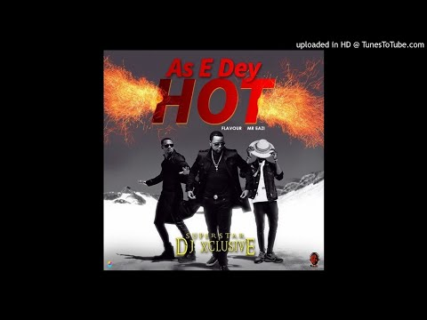 Instrumental: DJXclusive - As E Dey Hot Ft Mr Eazi And Flavour