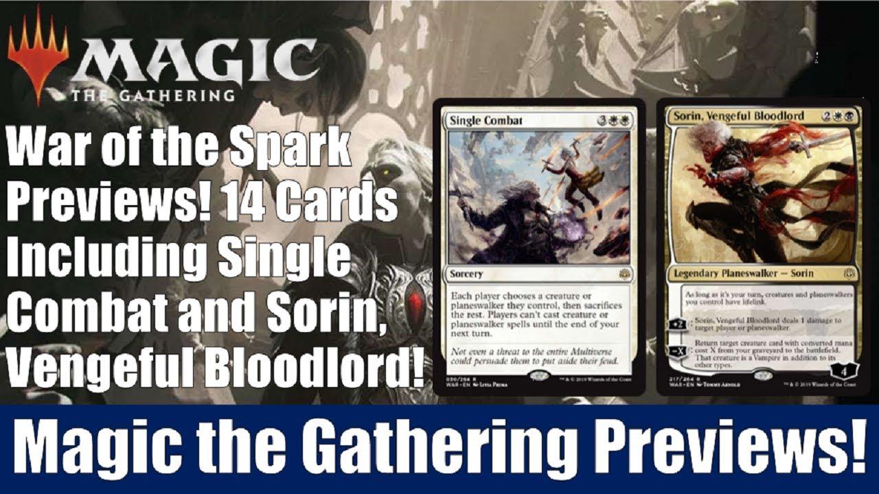 Magic: The Gathering Vengeful Bloodlord Sorin War of The Spark