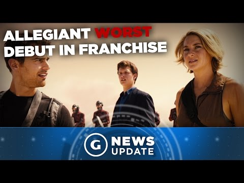 Allegiant Movie Has Worst Debut in Franchise History - GS News Update