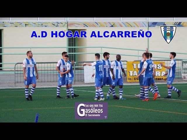 FORMACION TALAVERA 2- 3 HOGAR ALCARREÑO  GOLES DE JORGE Y BATANERO  4 MAYO 2019  FUTBOL  GUADALAJARA