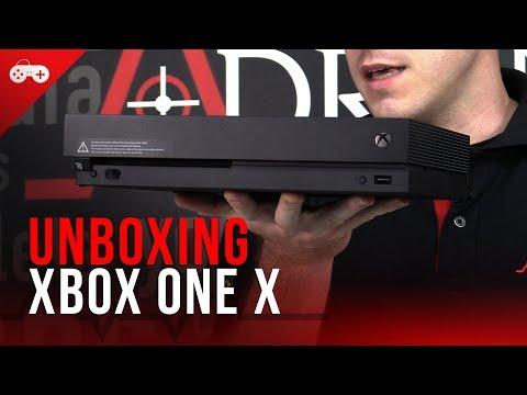 O monstro chegou no Adrena! Veja nosso Unboxing do Xbox One X, impressões e também comparativos