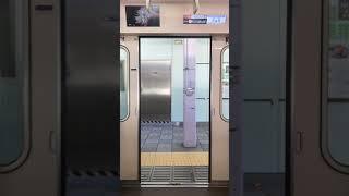 東京メトロ丸ノ内線 02系40F ドア開閉