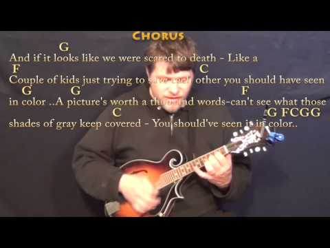 In Color (Jamey Johnson) Mandolin Cover Lesson in G with Chords/Lyrics