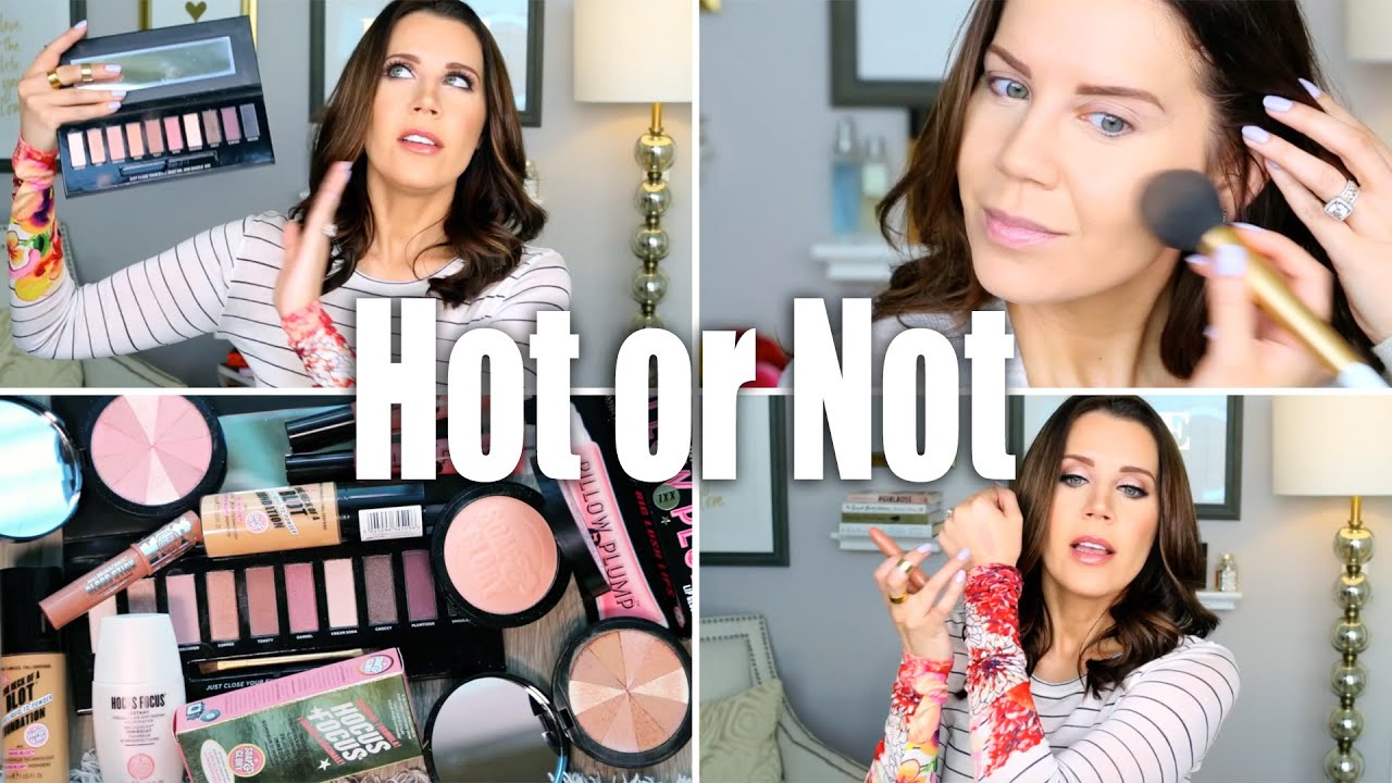 SOAP AND GLORY Makeup | Hot or Not - YouTube