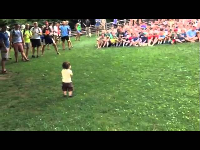 15 Month Old Controls 500 Boys at Camp Rockmont