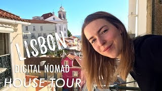 Lisbon Digital Nomad House Tour