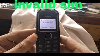 okia 1280 invalid sim solution sim register failed 100 done