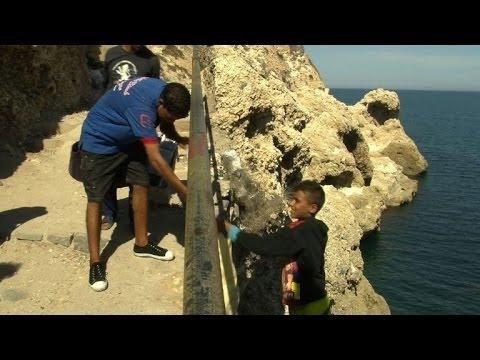 Melilla, puerta a Europa para inmigrantes