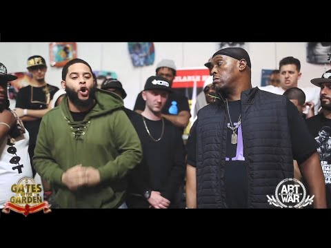 YOUNG KANNON VS HOUNDDAWG BUCK50  GATES OF THE GARDEN  RAP BATTLE  HOSTED  GULLY