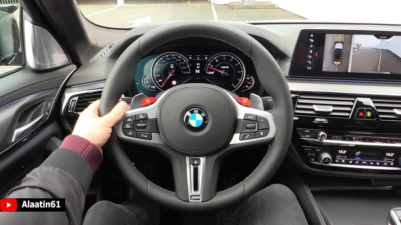 2019 BMW M5 Interior