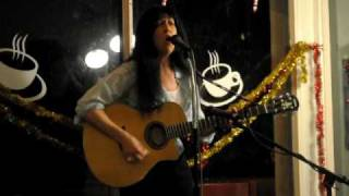 "Robin Roberts sings ""Clown Song"" at The Coffee Gallery Singer/Songwriter Showcase 01/03/10"