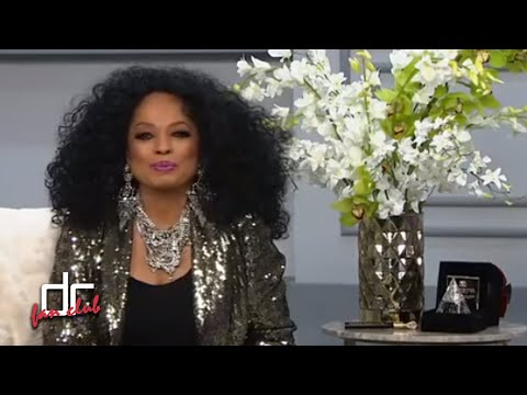 Diana Ross Diamond Diana Fragance Launches at HSN | 1st Appearance