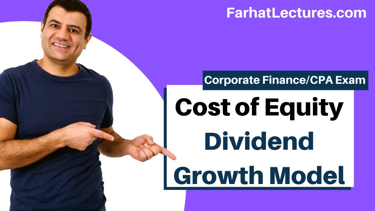 Cost Of Equity Using Dividend Growth Model Corporate Finance Ch 14