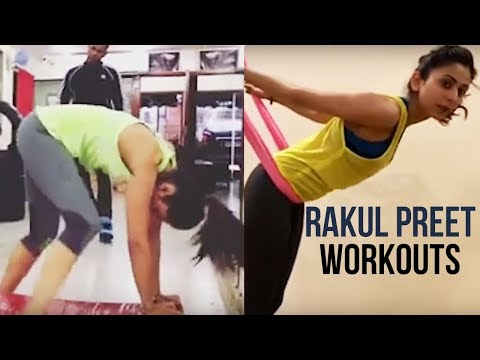 Rakul Preet Latest Workouts in Gym | #RakulPreet Singh Fitness Video | Celebs Workout Videos Mp3