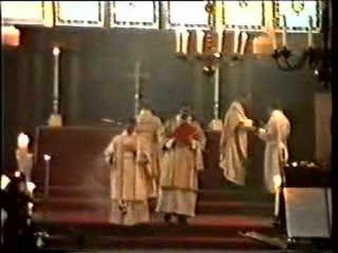 Sarum Rite (Use of Salisbury) High Mass