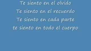 Te Siento -floricienta-  Letra