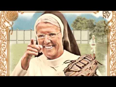 Tony Sandoval on The Breeze - Pitching Nun gets her own Baseball Card after a perfect Strike