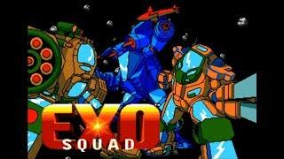Exosquad. SEGA Genesis. Walkthrough