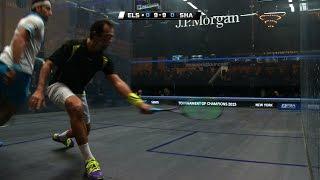 Squash: MegaRallies EP131: Elshorbagy v Shabana - Tournament of Champions 2015