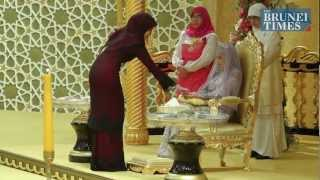 Свадьба принцессы, дочери султана Брунея!