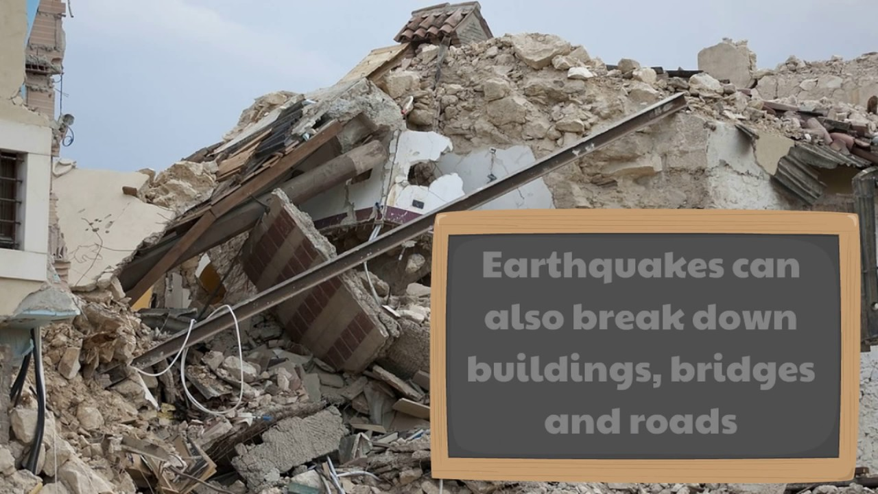 earthquakes for kids classroom learning video