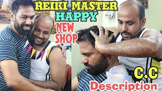Download Reiki master head massage therapy   ASMR   Relaxing   Subtitles available Mp3 and Videos