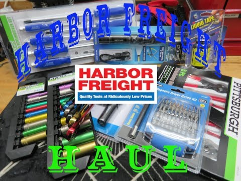 Harbor Freight Tool Haul
