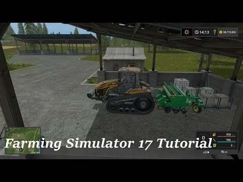 Farming Simulator 17 Tutorial - How To Refill A Sower / Seeder | FS17 Tutorials