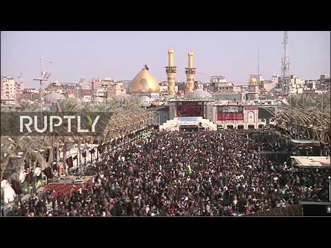 LIVE: Arba'een pilgrims gather in Karbala
