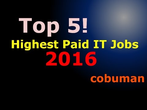 Top 5 Highest Paid IT Jobs in United States of America