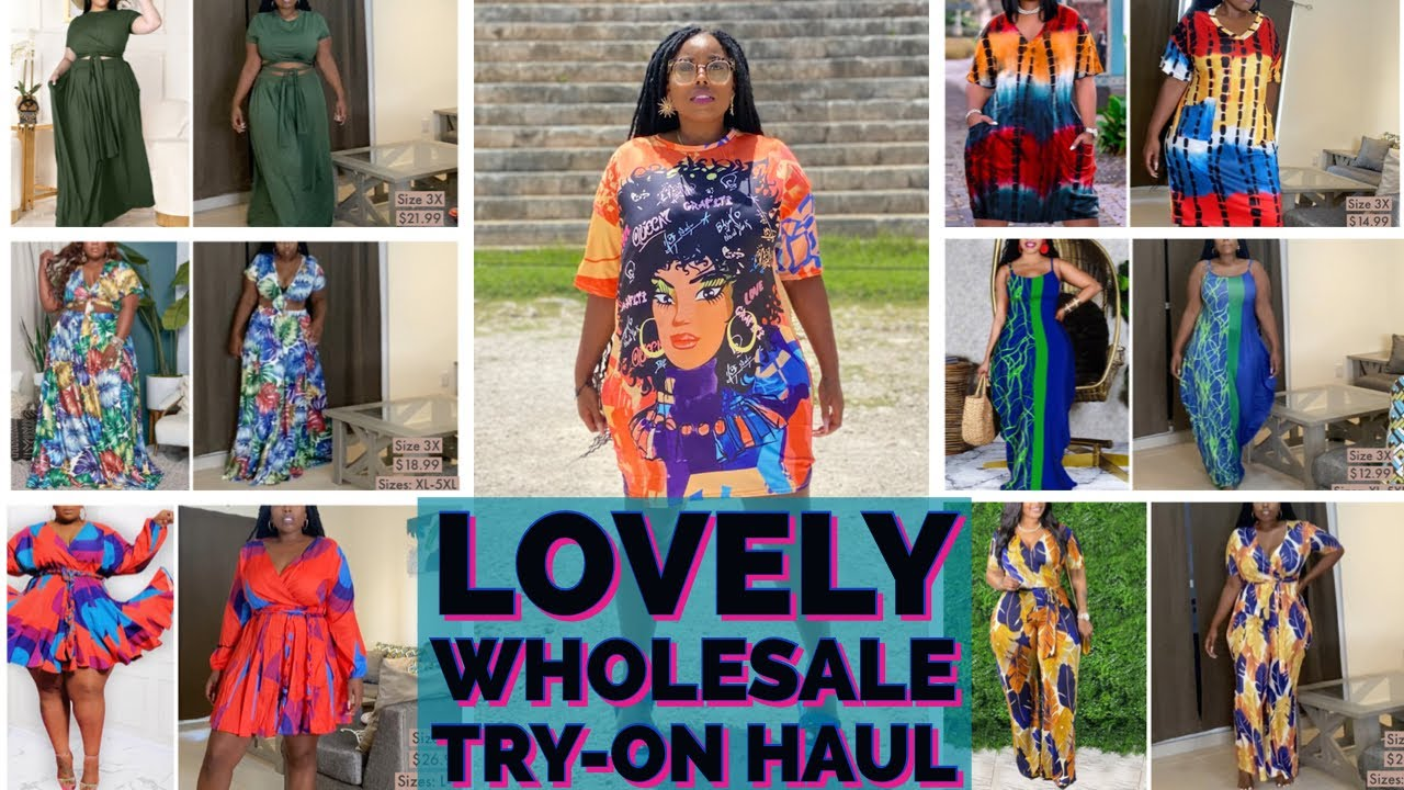 Lovely Wholesale Plus-Size Try-On Haul from Actual LW Model | Summer Sale!! | 8 Items!!