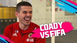 Is Adama Traore really the FASTEST player in the world?! | Conor Coady vs FIFA 19 🔥
