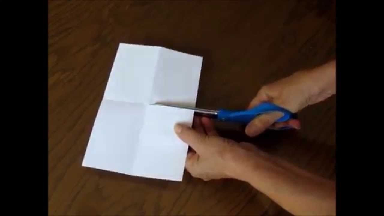 How To Make A Quick And Easy 8 Page Mini Book From One Piece Of Paper You