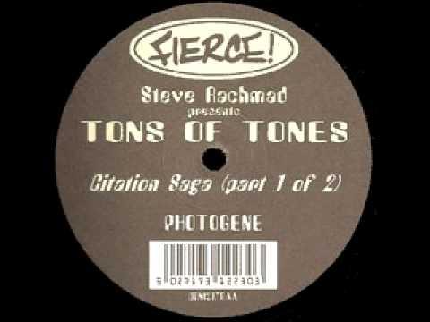 Steve Rachmad presents Tons of Tones - Photogene