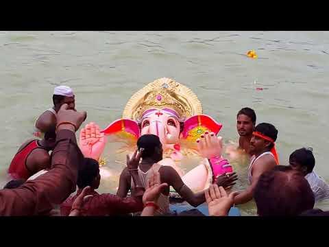 Ganesh Visarjan Solapur 2016 In 2K