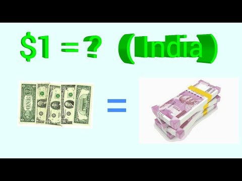 How Many Indian Rupees Are In One Dollar  Hindi
