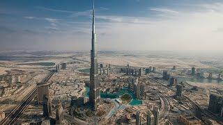 Dubai Part #7 - Burj Khalifa tower view from top