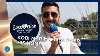 Let Me Show You Tel Aviv! Kobi Marimi flies over his HOME - Eurovision 2019