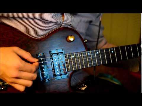 short scale baritone guitar using flatwound bass strings handmade guitar youtube. Black Bedroom Furniture Sets. Home Design Ideas