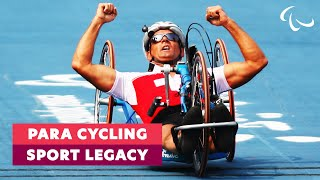 Working towards an Equal World | The Legacy of Cycling | Paralympic Games