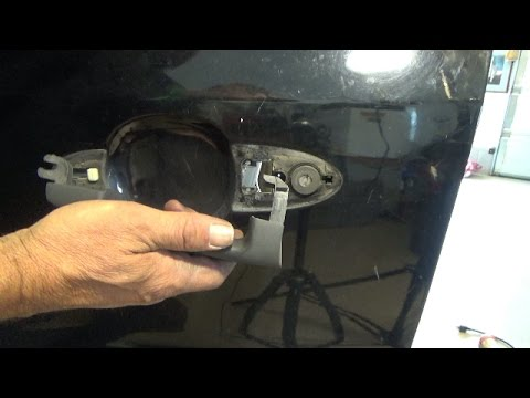 Front Outside Door Handle Replacement 2001 2007 Ford Escape Youtube