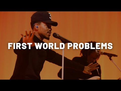 Chance The Rapper - First World Problems INSTRUMENTAL