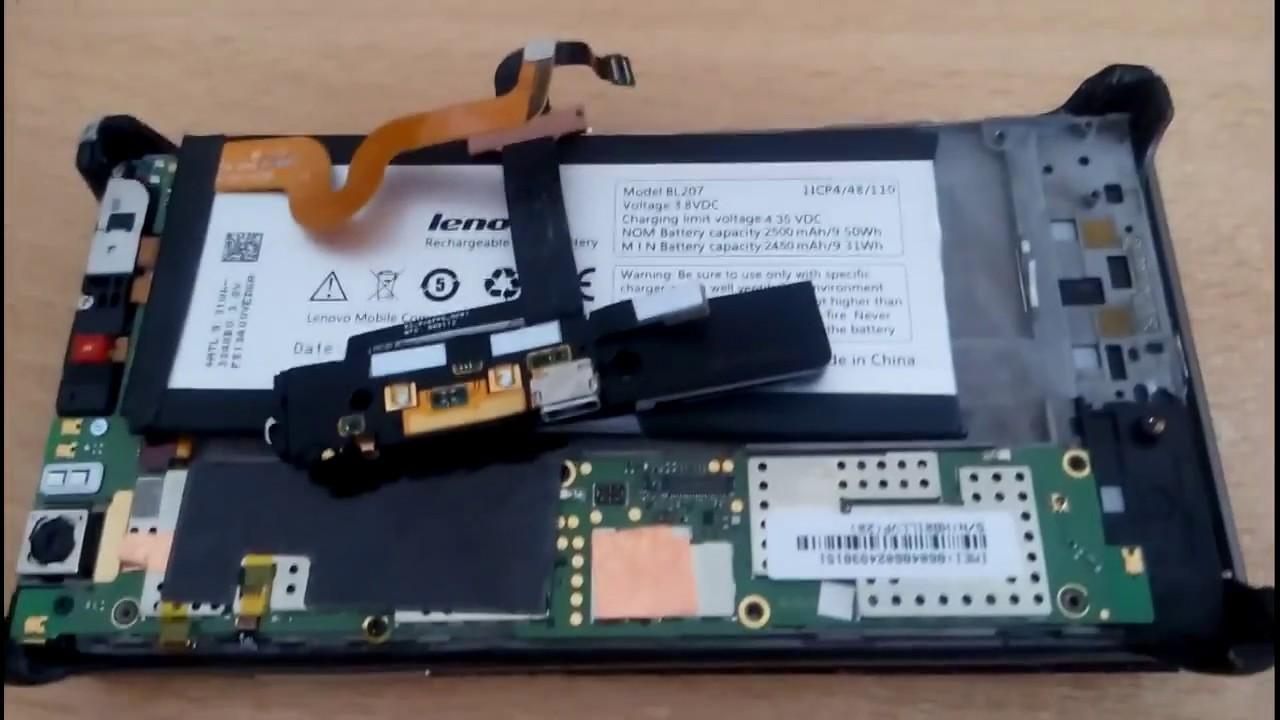 Аккумулятор леново К900 - YouTube