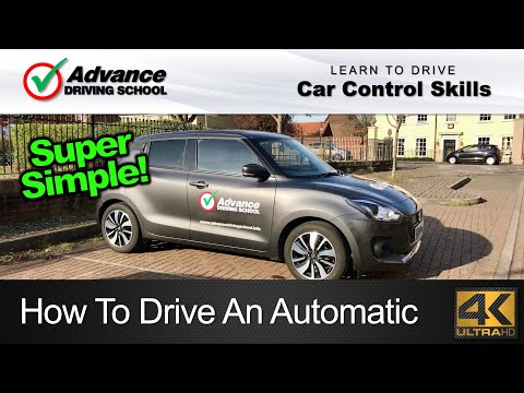 How To Drive An Automatic Car  |  Learning to drive: Car control skills