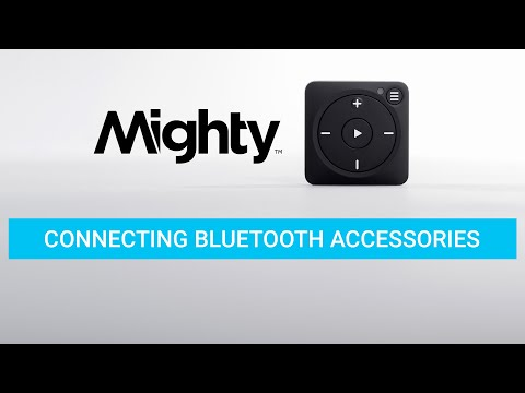 Connecting Bluetooth Accessories (NEW!)